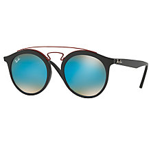 Buy Ray-Ban RB4256 Round Sunglasses Online at johnlewis.com