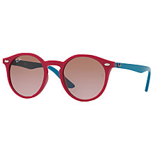 Buy Ray-Ban Junior RJ9064S Round Sunglasses Online at johnlewis.com