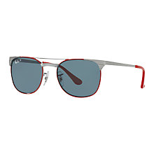 Buy Ray-Ban Junior RJ9540S Polarised Square Sunglasses Online at johnlewis.com