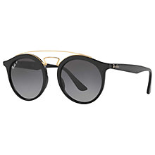 Buy Ray-Ban RB4256 Polarised Round Sunglasses Online at johnlewis.com