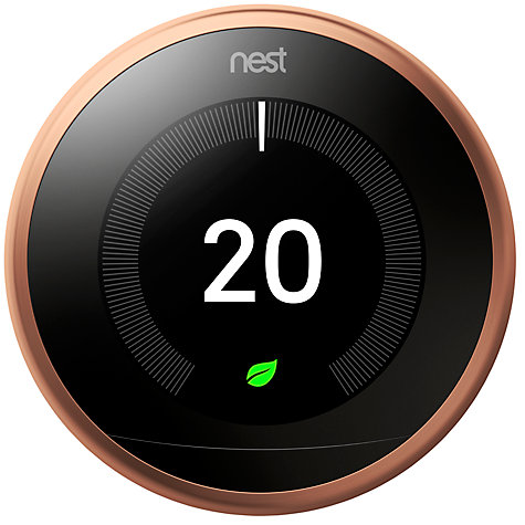 Buy nest learning thermostat 3rd generation john lewis - Nest learning thermostat ...
