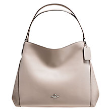 Buy Coach Edie Leather Tote Shoulder Bag Online at johnlewis.com