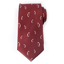 Buy John Lewis Christmas Penguin Silk Tie Online at johnlewis.com