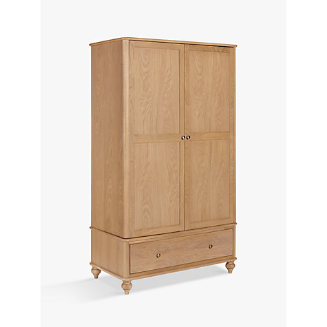 Buy john lewis croft collection bala 2 door 1 drawer Short wardrobe with drawers