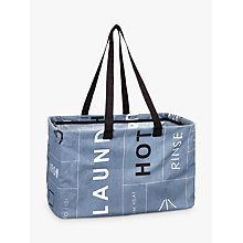Buy John Lewis Brooklyn Rectangular Laundry Bag Online at johnlewis.com