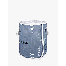 Buy John Lewis Brooklyn Pop Up Laundry Hamper Online at johnlewis.com