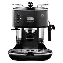 Buy De'Longhi Icona Micalite Espresso Coffee Machine, Black Online at johnlewis.com
