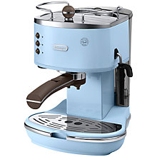 Buy De'Longhi Icona Espresso Coffee Machine, Light Blue Online at johnlewis.com