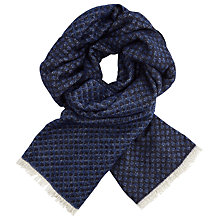 Buy Scotch & Soda Refined 'Combo C' Scarf, Blue Online at johnlewis.com