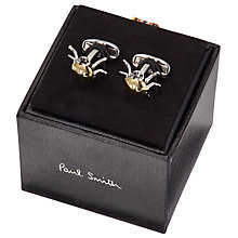 Buy Paul Smith Bolts Cufflinks, Gold Online at johnlewis.com