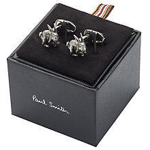 Buy Paul Smith Rabbit Cufflinks, Silver Online at johnlewis.com