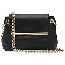 Buy Reiss Asplin Bar Cross Body Bag, Black Online at johnlewis.com
