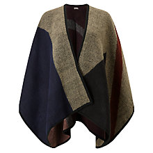 Buy Phase Eight Colour Block Cape, Multi Online at johnlewis.com