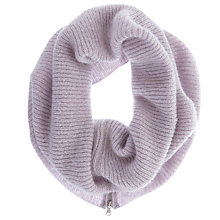 Buy Mint Velvet Rib Knit Snood, Lilac Online at johnlewis.com