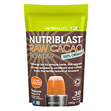 Buy NutriBlast Powder, Raw Cacao Powder Online at johnlewis.com
