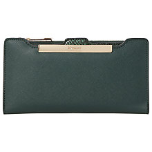 Buy Dune Kiri Slimline Purse, Green Online at johnlewis.com