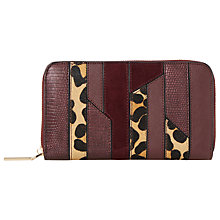 Buy Dune Kay Patchwork Zip Around Purse Online at johnlewis.com