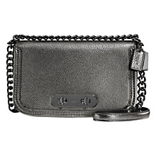 Buy Coach Swagger Pebble Leather Shoulder Bag Online at johnlewis.com