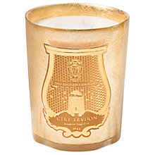 Buy Cire Trudon Ernesto Christmas Candle, Gold, 270g Online at johnlewis.com