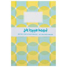 Buy Jane Katherine Houghton Retro Circle Notebooks, Set of 4, Mini Online at johnlewis.com