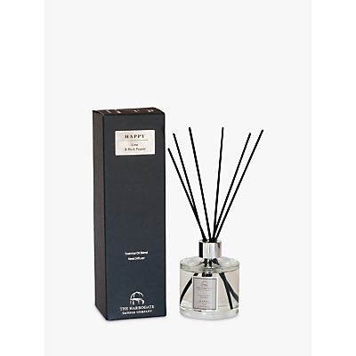 Image of The Harrogate Candle Company Happy Lime And Black Pepper Diffuser, 200ml