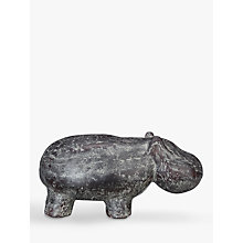 Buy John Lewis Fusion Decorative Hippo Online at johnlewis.com