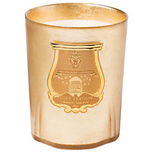 Buy Cire Trudon Abd El Kader Christmas Candle, Gold, 3kg Online at johnlewis.com