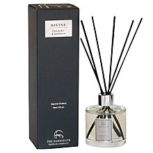 Buy The Harrogate Candle Company Divine Dark Amber and Sandalwood Diffuser, 200ml Online at johnlewis.com