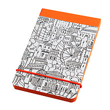 Buy Sketch London A7 Notepad, Black Online at johnlewis.com