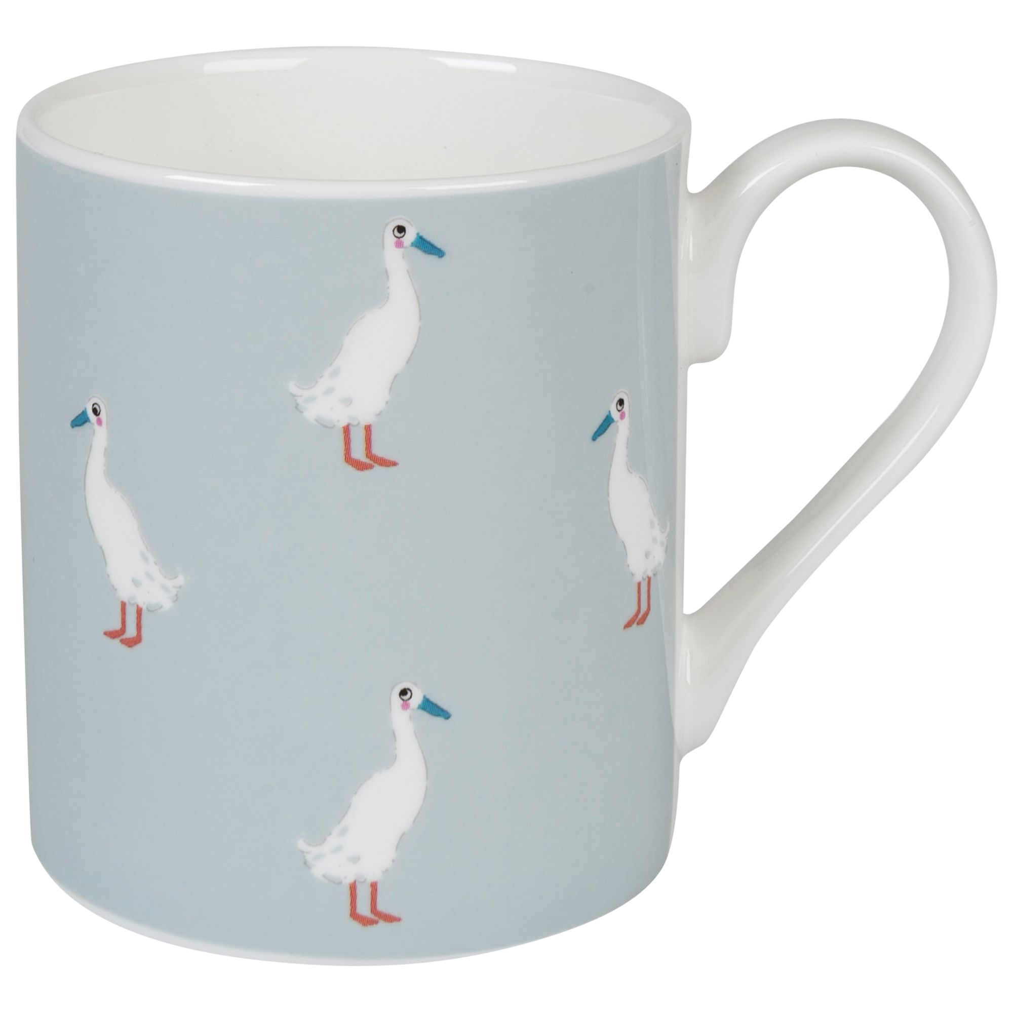Sophie Allport Sophie Allport Runner Duck Mug, Blue