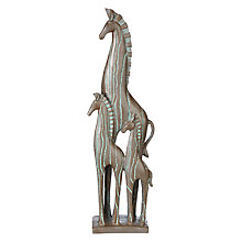 Buy John Lewis Fusion Zebra Trio Sculpture Online at johnlewis.com