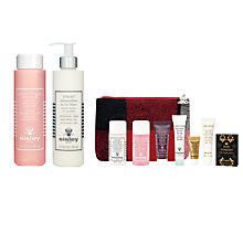 Buy Sisley Floral Toning Lotion and Lyslait Make-Up Removing Milk with Gift Online at johnlewis.com