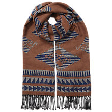 Buy Miss Selfridge Aztec Print Scarf, Multi Online at johnlewis.com