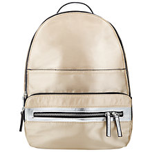 Buy Miss Selfridge Nylon Zip Rucksack Online at johnlewis.com