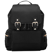 Buy Miss Selfridge Nylon Pocket Rucksack Online at johnlewis.com