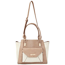 Buy Miss Selfridge Contrast Oversized Tote, Camel Online at johnlewis.com