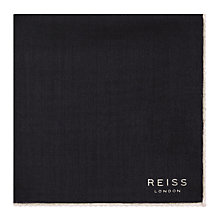 Buy Reiss Wasp Wool Pocket Square Online at johnlewis.com