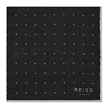 Buy Reiss Pinta Dotted Wool Pocket Square Online at johnlewis.com