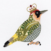 Buy Nicola Jarvis Green Woodpecker Crewel Work Embroidery Kit Online at johnlewis.com