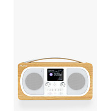 Buy Pure Evoke H6 DAB/DAB+/FM Stereo Bluetooth Radio, Oak Online at johnlewis.com