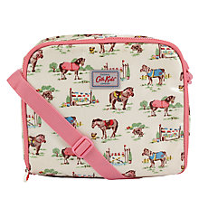 Buy Cath Kidston Children's Pony Print Lunch Bag, Cream/Pink Online at johnlewis.com