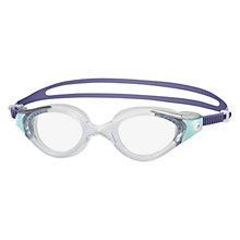Buy Speedo Futura Biofuse 2 Women's Goggles, Purple/Clear Online at johnlewis.com