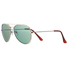 Buy John Lewis Classic Aviator Sunglasses Online at johnlewis.com