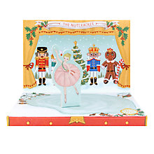 Buy 'The Nutcracker' Music Box Card Online at johnlewis.com