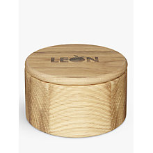 Buy LEON Oak Pinch Pot Online at johnlewis.com