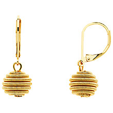Buy Monet Spiral Ball Hook Drop Earrings Online at johnlewis.com