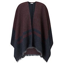 Buy Jigsaw Sylvie Blanket Wrap Cape Online at johnlewis.com