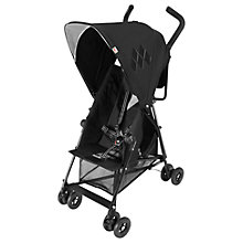 Buy Maclaren Mark II Recline Buggy, Black Online at johnlewis.com
