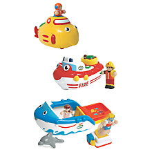 Buy WOW Toys Bathtime Friends 3 In 1 Set Online at johnlewis.com