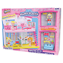 Buy Shopkins Happy Places Popette Decor Pack Online at johnlewis.com